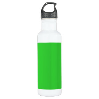 Lime Green Exclusive Full Color 24oz Water Bottle