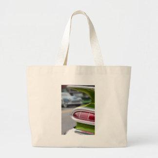 Lime Green Fin Jumbo Tote Bag