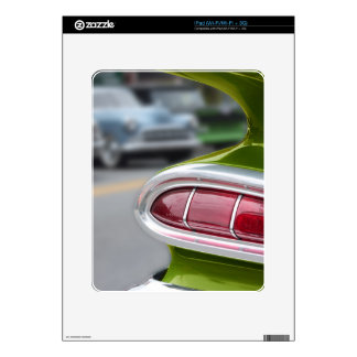 Lime Green Fin Decal For iPad