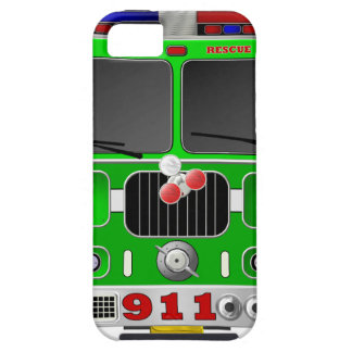 Lime Green Fire Truck iPhone SE/5/5s Case