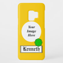 Lime Green Flower Ribbon by Kenneth Yoncich Case-Mate Samsung Galaxy S9 Case