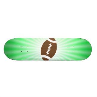 Lime Green Football Skate Board