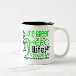 Lime Green For Hero 2 Brother Lymphoma Mug