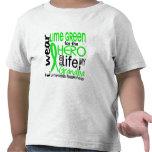 Lime Green For Hero 2 Grandpa Lymphoma Tee Shirt