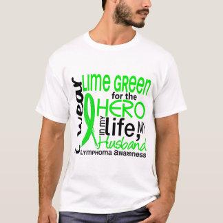 Lime Green For Hero 2 Husband Lymphoma T-Shirt