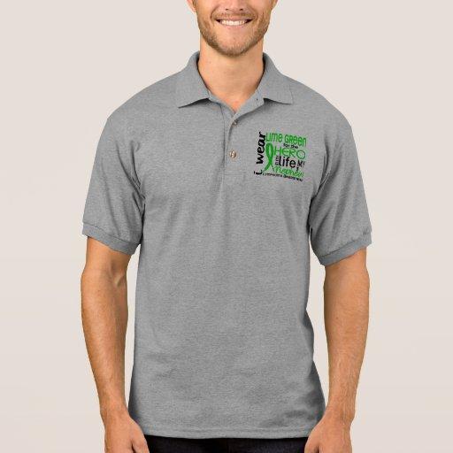 Lime Green For Hero 2 Nephew Lymphoma Polo Shirt