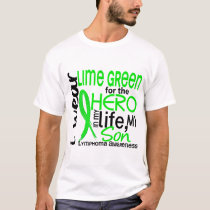 Lime Green For Hero 2 Son Lymphoma T-Shirt