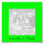 Lime Green Frame Photo Photo Print