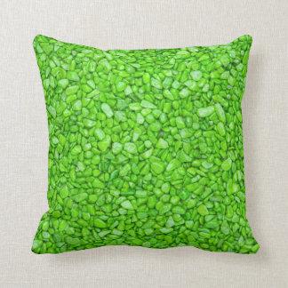 Lemon Green Throw Pillow : Gravel Pillows - Decorative & Throw Pillows Zazzle