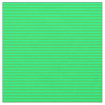 [ Thumbnail: Lime Green & Green Colored Stripes Fabric ]