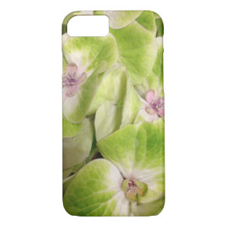 Lime Green Hydrangea Floral iPhone 8/7 Case