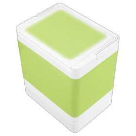 Lime Green Igloo Ice Chest