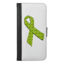 Lime Green iPhone 6/6s Plus Wallet Case