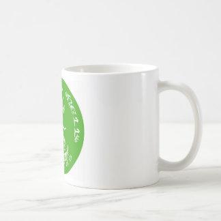 "LIME GREEN  ""It Evil"" Coffee Mug"