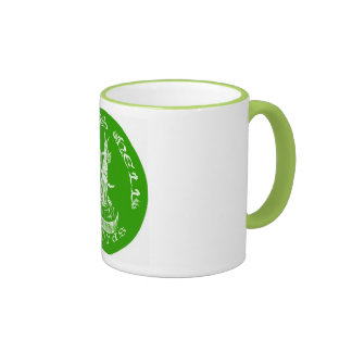 LIME GREEN It Evil Coffee Mugs