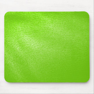 Lime Green Leather Look (Faux) Mouse Pad