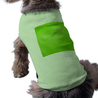 Lime Green Leather Look (Faux) Pet Clothes