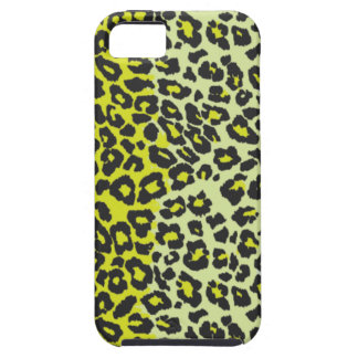 Lime Green Leopard iPhone 5 iPhone SE/5/5s Case
