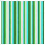[ Thumbnail: Lime Green, Light Cyan, Aqua, and Dark Green Fabric ]