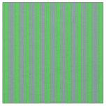 [ Thumbnail: Lime Green & Light Slate Gray Pattern Fabric ]