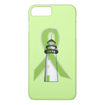 Lime Green Lighthouse of Hope iPhone 8 Plus/7 Plus Case