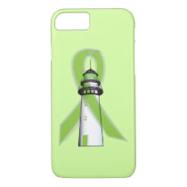 Lime Green Lighthouse of Hope iPhone 8/7 Case