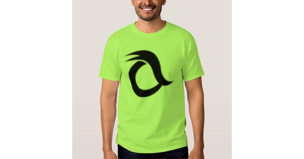 lime green logo tshirt zazzle