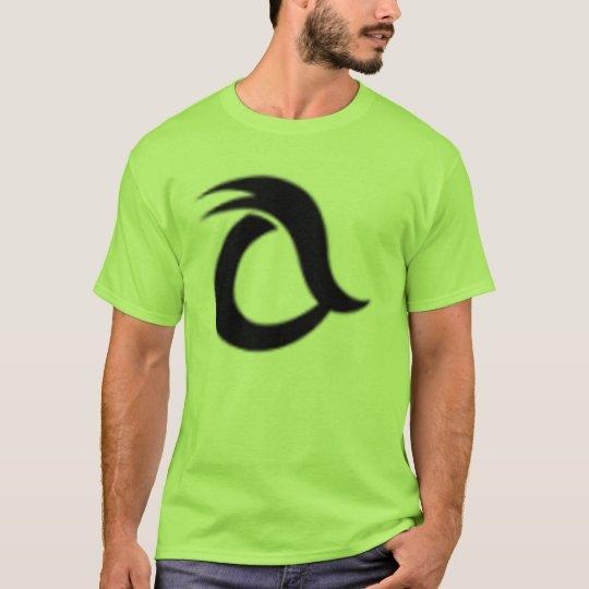 lime green logo tshirt zazzlecom