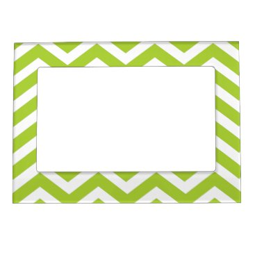 Beach Themed Lime Green Magnetic Picture frame