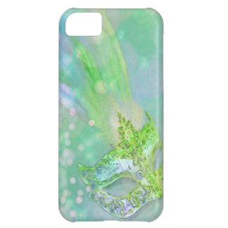 Lime Green Masquerade iPhone 5C Cover