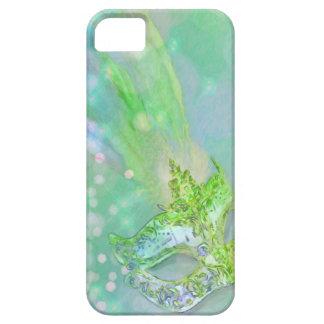 Lime Green Masquerade iPhone SE/5/5s Case