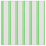 [ Thumbnail: Lime Green & Mint Cream Colored Pattern Fabric ]