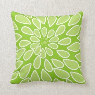 Lime Green Mum Pillow