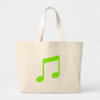 Lime Green Music Bag