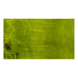 LIme Green Neon Halloween Themed Background Business Card Templates