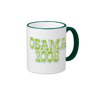 Lime Green Obama Mug