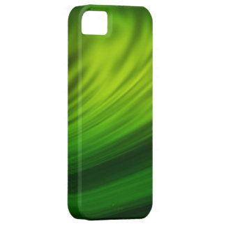 Lime green paint brush strokes on iphone cases iPhone 5 cover