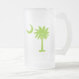 Lime Green Palmetto Mug