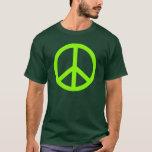 Lime Green Peace T-Shirt
