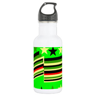 Lime green 18oz water bottle