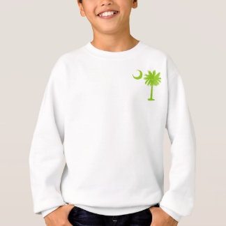 Lime Green Pocket Palmetto Sweatshirt