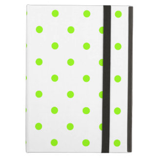Lime Green Polka Dots Case For iPad Air