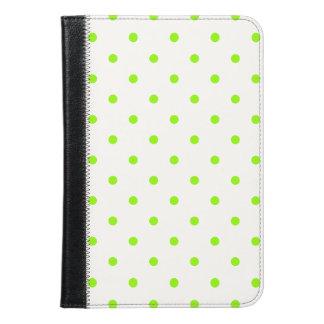 Lime Green Polka Dots iPad Mini Case