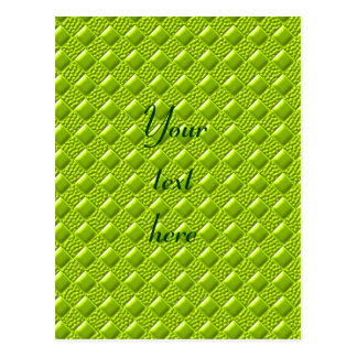 Lime Green Postcard