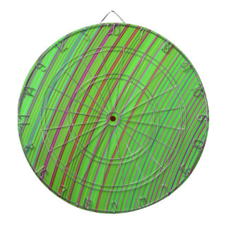 Lime Green Rainbow Dart Board