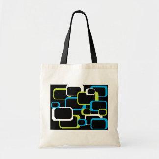 Lime Green Retro Square Bag