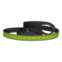 Lime Green Ribbon Support Awareness Pet Lead