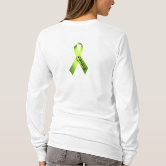 Lime Green Ribbon Survivor Shirt