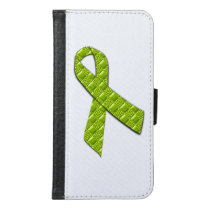 Lime Green Samsung Galaxy S6 Wallet Case