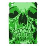 Lime Green - Skull iPad Mini Cases